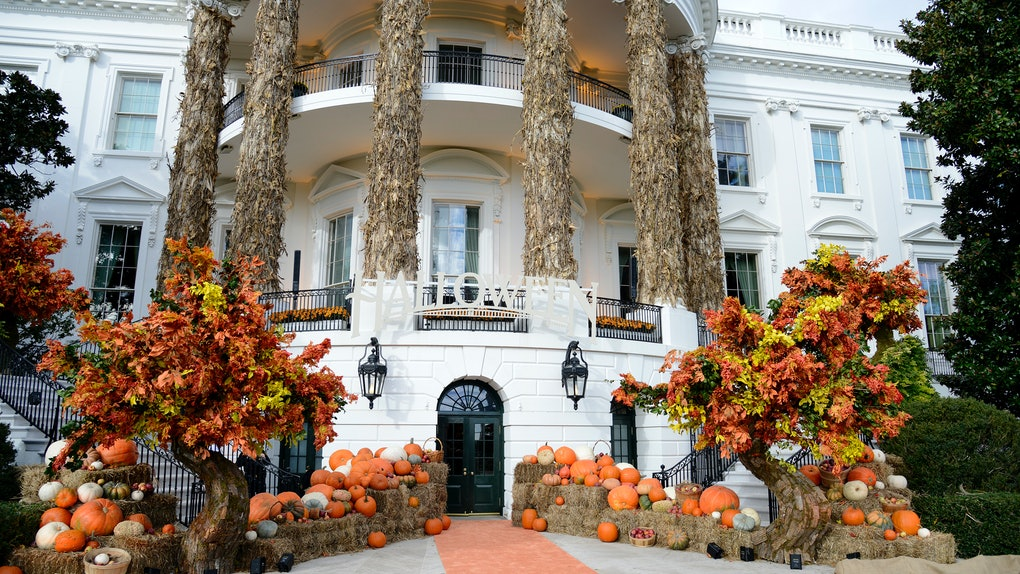 The White house halloween